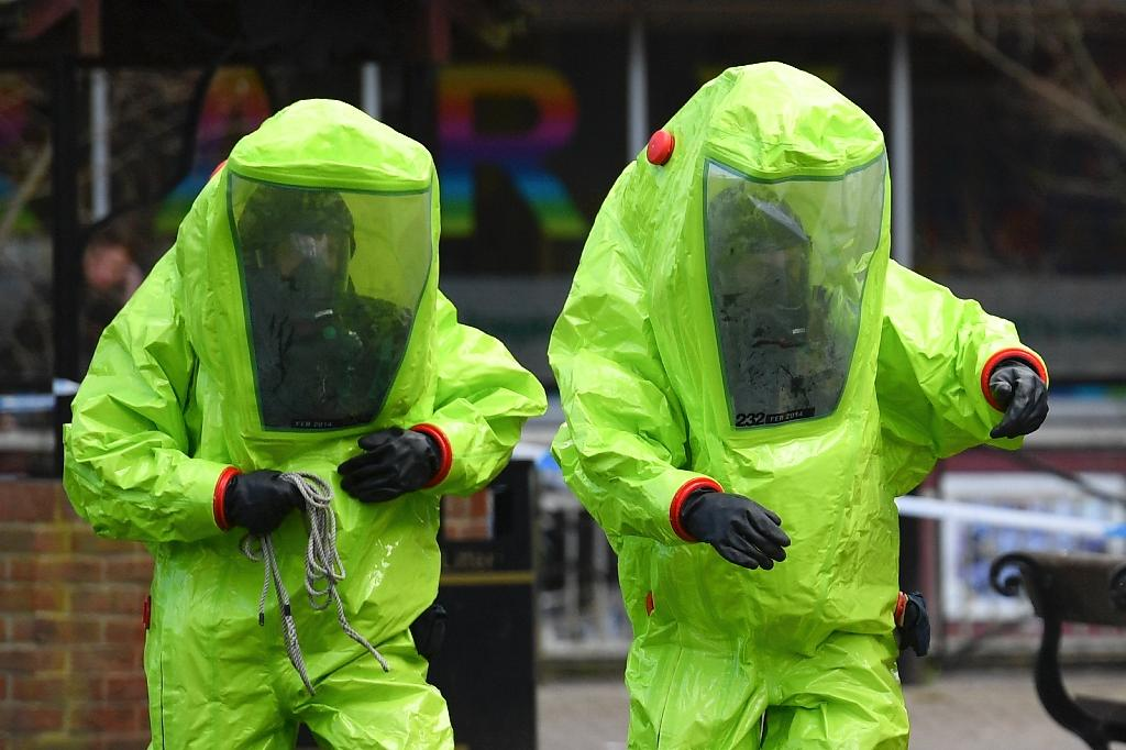 Russia has denied involvement in the Skripal poisoning