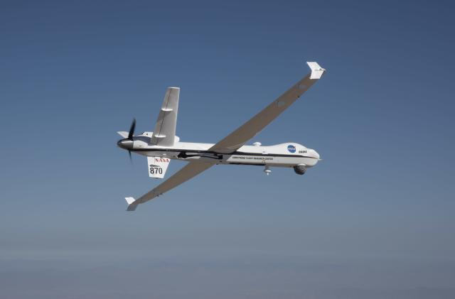 NASA's unmanned drone had its first solo flight in public airspace