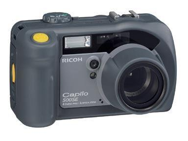 Ricoh Caplio 500SE Model W rocks WiFi and Bluetooth