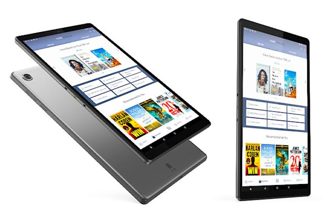 Barnes & Noble teamed up with Lenovo for its new 10-inch Nook tablet