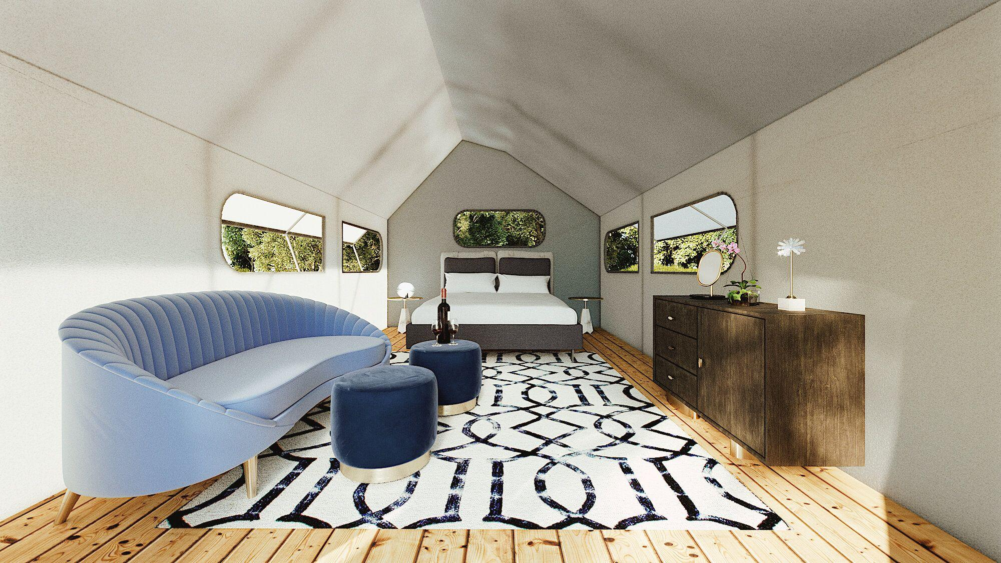 This business sells 'the full solution' to glamping
