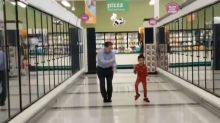 5-Year-Old Boy Makes His Grandpa Go Dancing In Grocery Store Just Before Surgery