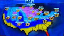 Extreme cold blankets much of the country