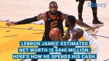 LeBron James's Estimated Net Worth is $440 Million. Here's How He Spends His Cash.