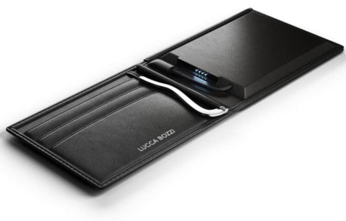 Lucca Bozzi Solar Wallet: Solar-Batterie-Pack für die Hosentasche