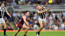Magpies too hot for sloppy Lions in AFL