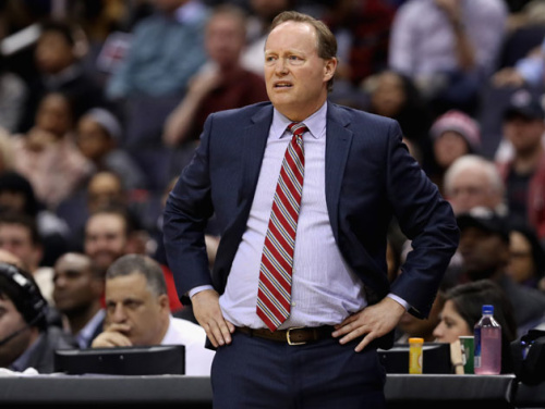 Coach Mike Budenholzer is expected to still have a strong voice in personnel decisions. (Getty)
