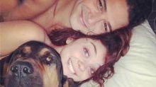 Sarah Hyland Shares Sexy Bed Selfie With Boyfriend Wells Adams