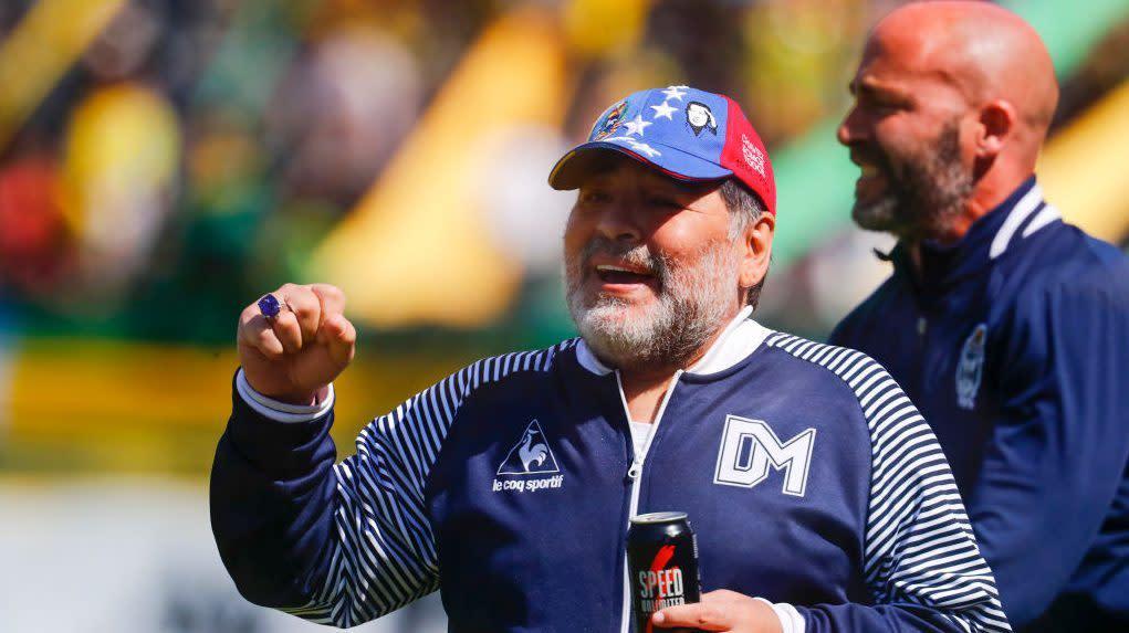 Maradona resigns as manager of Gimnasia