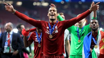 Van Dijk says Liverpool are hungry for more success after Champions League win