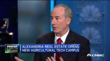 Alexandria Real Estate CEO breaks down what ag-tech means