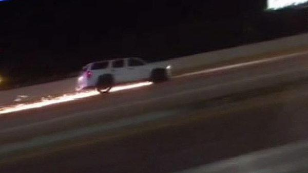Police chase caught on camera in Conroe area