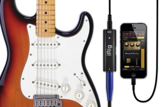 IK Multimedia's iRig HD adapter for iOS, Mac lets guitars ride the Lightning port