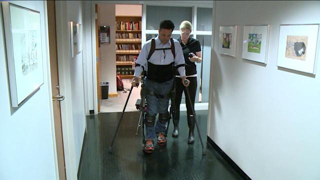 Giving The Gift Of Mobility To Paralyzed Veterans