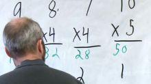 Math exam removes calculators, some Grade 6 students struggle