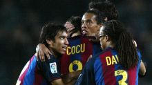 Assim era a escalação do Barcelona antes da estreia de Lionel Messi