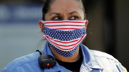 CDC recommends voluntary use of face masks in public