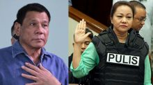 Duterte distances self from Napoles witness protection issue