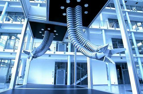 Festo's strong and agile robot arm is based on the elephant's trunk, scares the bejesus out of us (video)