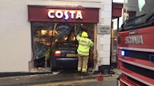 Rotary Club treasurer who ploughed into coffee shop killing woman is still able driver, judge says