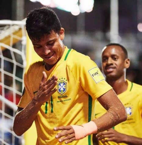 Brasil encara Portugal nas quartas da Copa do Mundo de beach soccer