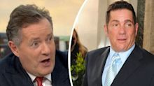 Piers Morgan claims Dale Winton grabbed and snogged him