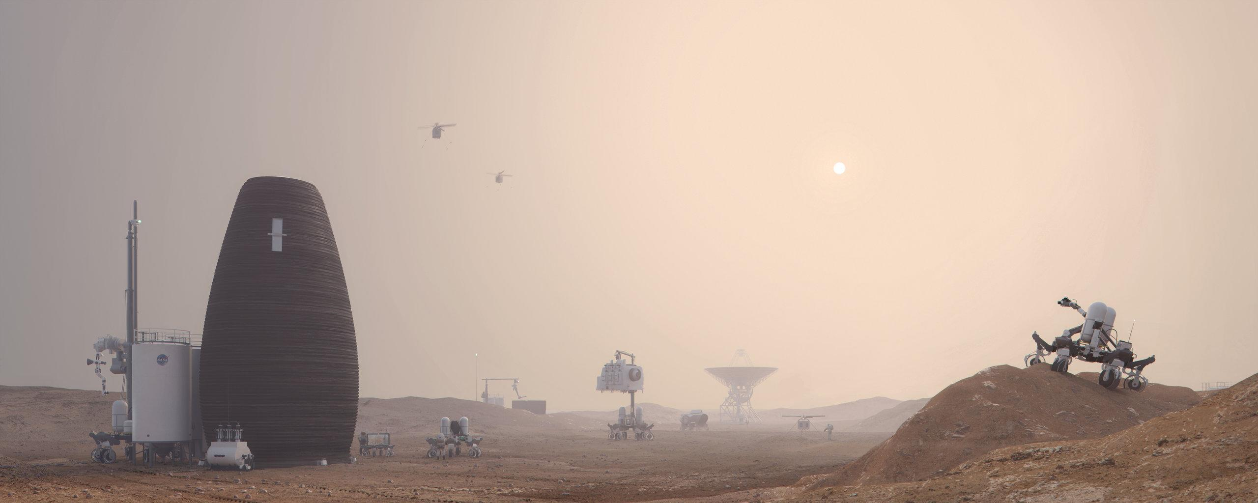 mars mission 2019 - 986×555