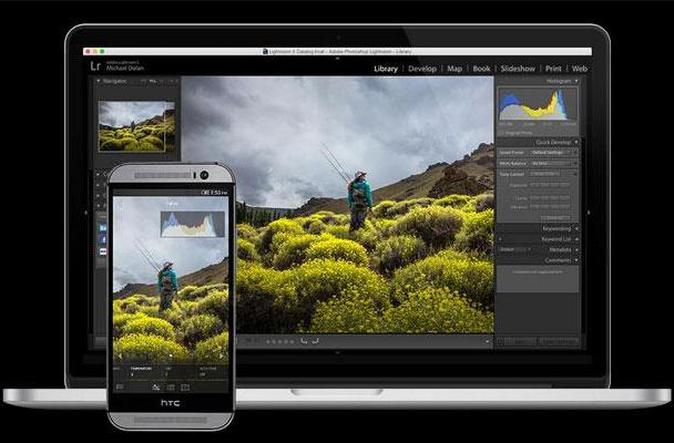 Adobe Lightroom mobile comes to Android, but it's only for phones