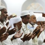Sri Lanka's Muslims hold subdued prayers amid tight security