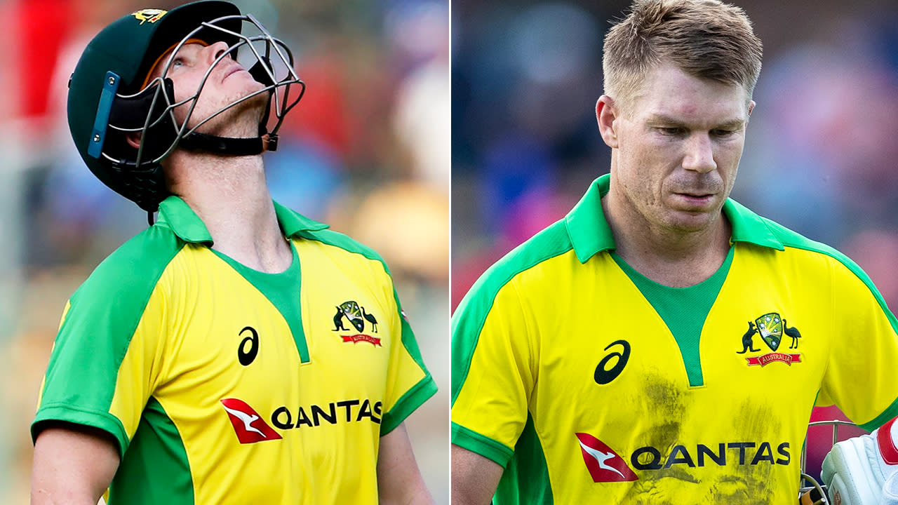 'What a choke': Aussies suffer embarrassing collapse to lose second T20
