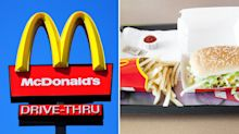 Woman sues McDonald's alleging 'faeces' on burger wrapper