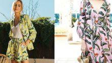 夏日療癒 Staycation 穿搭:如何運用熱帶印花營造出時尚渡假風?