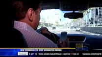 New technology to stop distracted driving