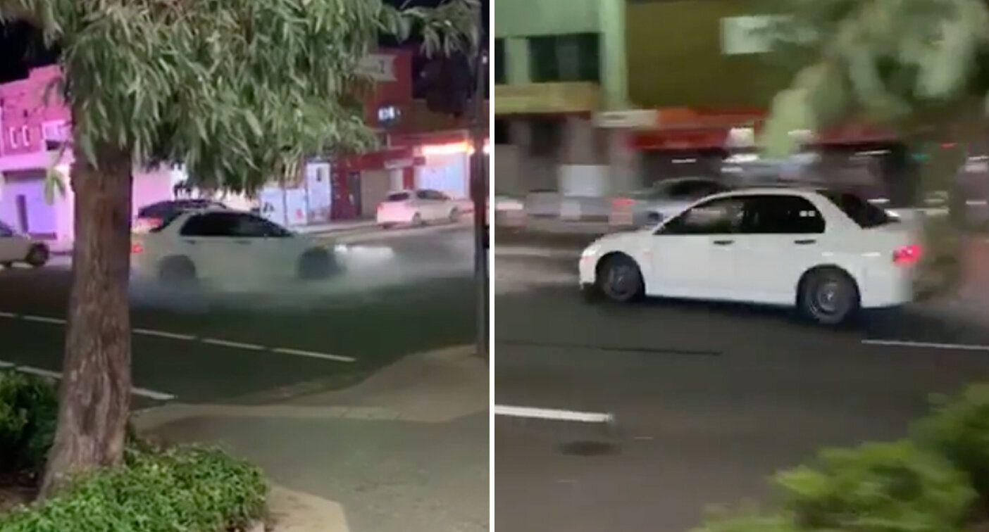 'Hooligan' driver slammed over reckless stunt at intersection