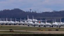 Incredible Photos Show Airplanes Grounded at Airports Around The World