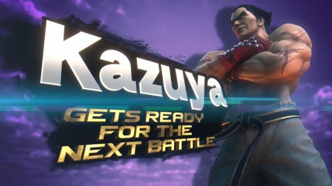 Kazuya from Tekken in Super Smash Bros. Ultimate