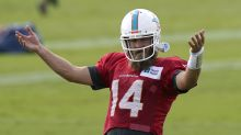 You need a slow-mo video of a fun Ryan Fitzpatrick no-look TD pass in your life today