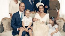 Princess Charlotte Is the Star of Prince Louis' Official Christening Photos