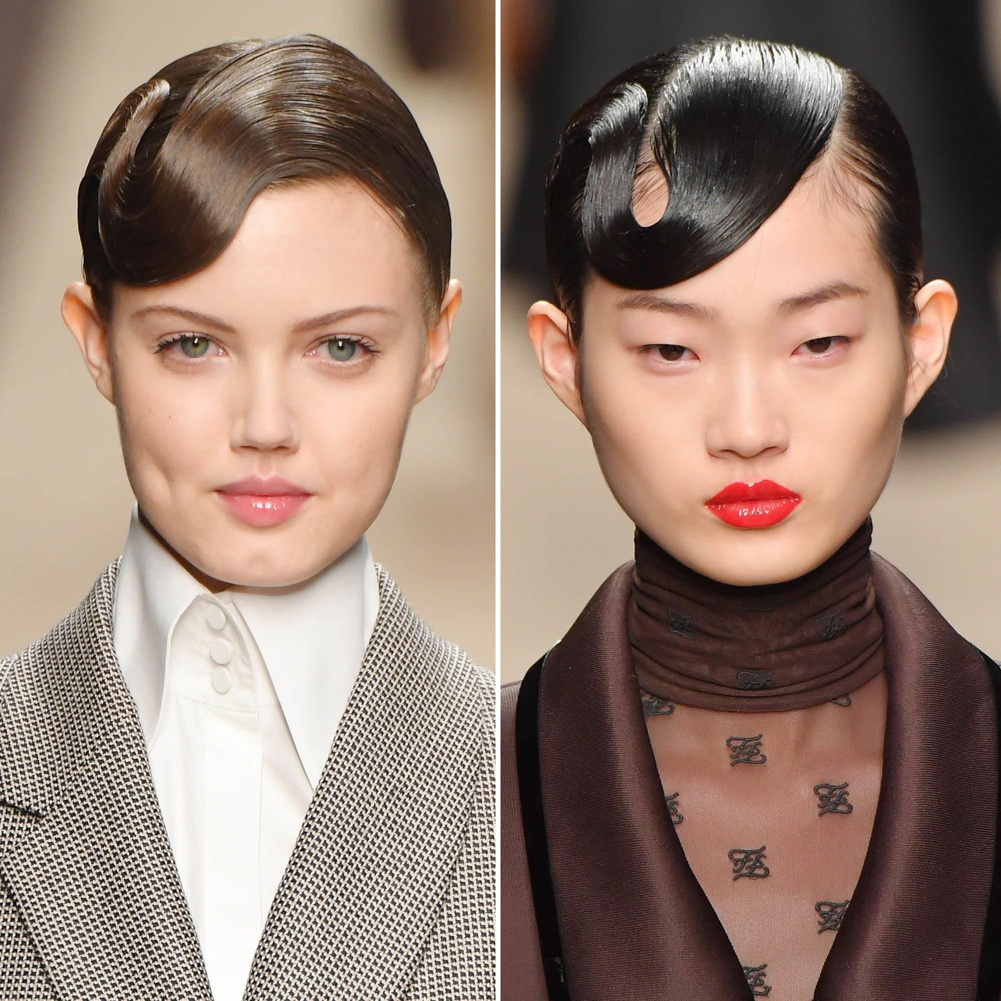 Fashion Beauty Trends: Milan Fashion Week Fall 2019: The Best Hair And Makeup