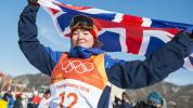 Winter Olympics: Teenager Atkins becomes Britain's first Olympic skiing medallist