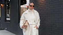 Le total look blanc s'impose comme le motto mode de cetautomne