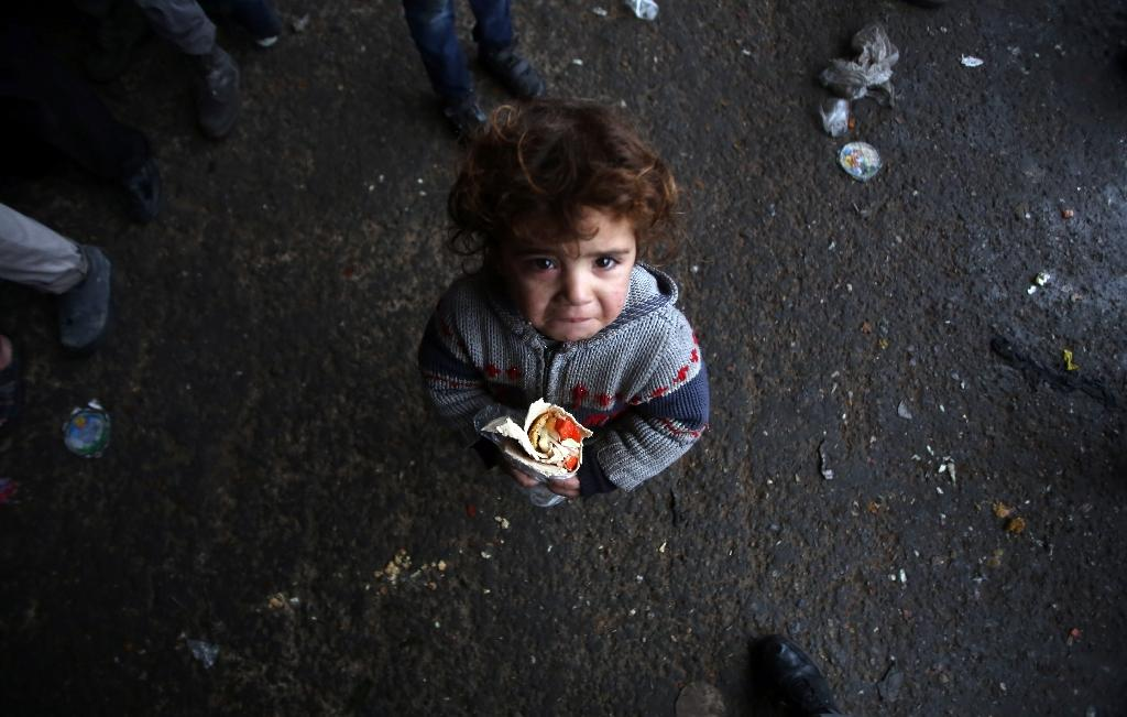 Russia has renewed calls for humanitarian corridors so aid can enter and desperate residents can leave eastern Aleppo (AFP Photo/Youssef Karwashan)