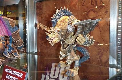 DC shows off what look like Series 4 Figures at ComicCon