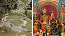 Who are the two characters that are common between Ramayana and Mahabharata