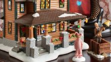 This Ceramic Replica of Ralphie's House From 'A Christmas Story' Is Insanely Detailed