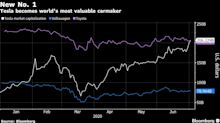Tesla Overtakes Toyota as the World's Most Valuable Automaker