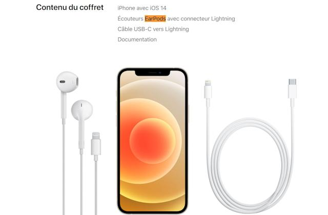 iPhone 12 comes with free EarPods in France thanks to radiation laws