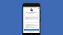 Facebook is asking users worldwide to review their privacy settings