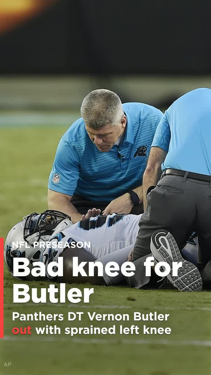 Panthers DT Butler sidelined with sprained left knee [Video]