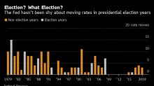 Fed Likely to Defy History With Rates Steady Through Elections